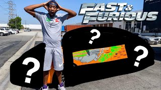 SURPRISING MY FRIEND WITH HIS FIRST CAR!  *FAST & FURIOUS*