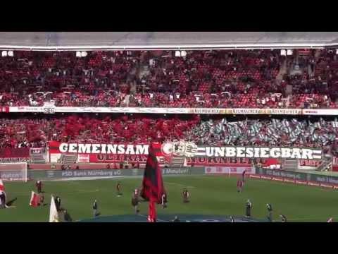 1.FC Nürnberg - FC St. Pauli 2:2 - Intro Nordkurve Nürnberg - 01.11.14