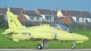 Another New Hawk T2/165 (ZB112) Test Flight@BAE Systems Warton Aerodrome