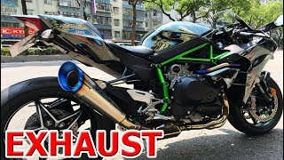 Kawasaki H2R/H2 TOP 13 Exhaust Sound: Akrapovic, Yoshimura, Austin Racing, SC Project