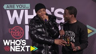 DJ Drewski & Def Jam's own TJ Porter | Who's Next Leaderboard Live | Wed 2.20.19