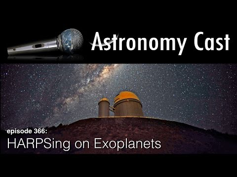 Astronomy Cast Ep. 366: HARPS Spectrograph
