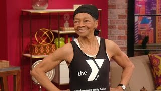 Watch a 77-Year-Old Woman Lift 250 Pounds!
