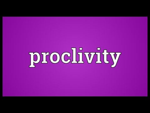 Header of proclivity