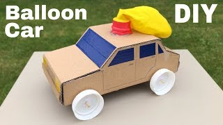 How to Make Amazing Balloon Powered Car - Air Car