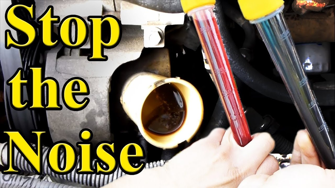 Quiet A Power Steering Pump How To Youtube