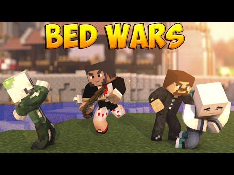Minecraft Bed Wars #19 - Вдвоем против всех!