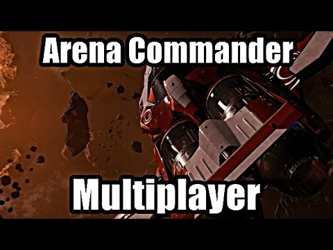Star Citizen Arena Commander: Multiplayer review! (and Gameplay)