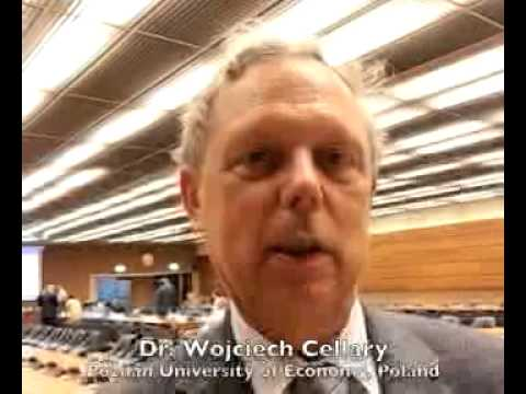 Expert Group Meeting, Geneva 2013: Video Message by Dr. Wojciech Cellary