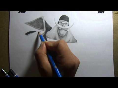 Beard Drawings Pencil Drawing White Beard