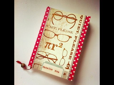 Decorating/personalizing a little notebook