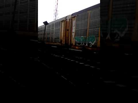 Train WALL Vehicles in Train Cars - Loud Defame Vibration Nov 1/16