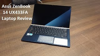 Asus Zenbook UX433FA Review and specifications