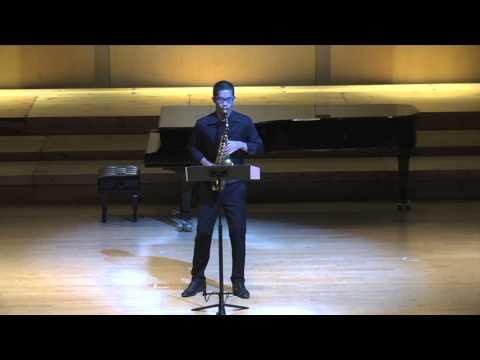 Things Heard, Misunderstood by Andrea Reinkemeyer [Wisuwat Pruksavanich - Saxophone]