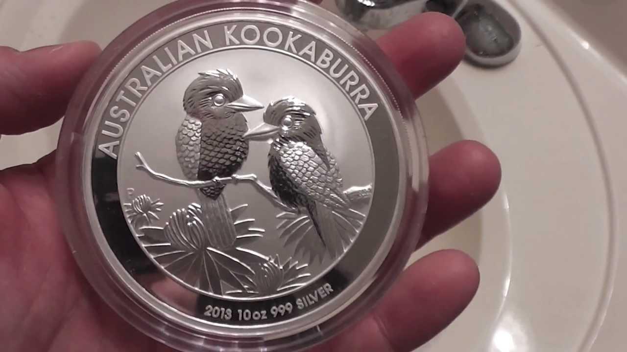 2012 Australian Perth Mint Kookaburra 10 Ounce Silver Coin
