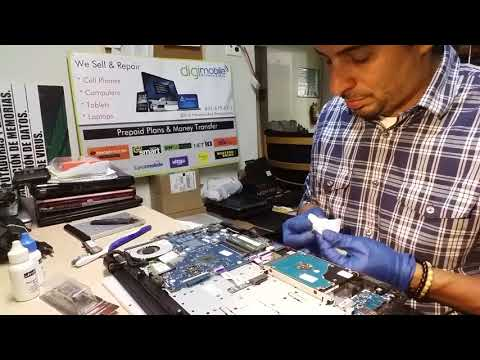 Time Lapse Overheating Laptop