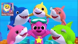 Baby Shark song different versions & games Pinkfong sing and dance animal songs Educational app