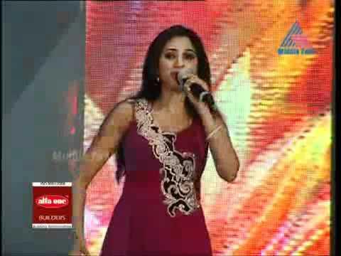 Zoobi Doobi,Yeh Ishq Hai Shreya Ghoshal In Mathrubhumi Film Awards