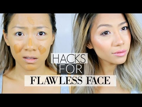 10 LIFE CHANGING FOUNDATION HACKS For a Flawless Face ! | Tips & Tricks for oily and dry skin