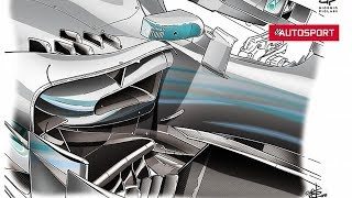 Video: How a Formula 1 car works - Giorgio Piola on sidepods | CAR NEWS 2019