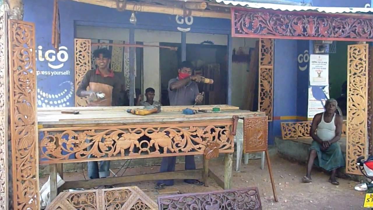 Sri lanka ceylon wood carving decorative window for Window designs in sri lanka