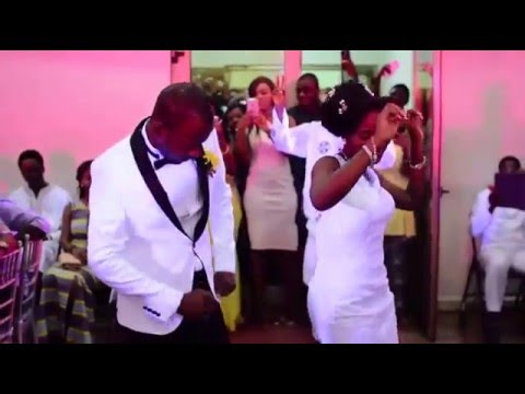 Emma + Nana Akyaa wedding Highlights (Nhyira Studios)