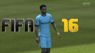 Fifa 16 - Manchester City FC Gameplay 1080p