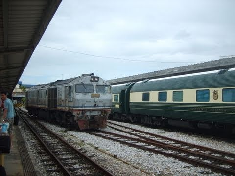 By train from Bangkok to Butterworth (Thailand/Malaysia)