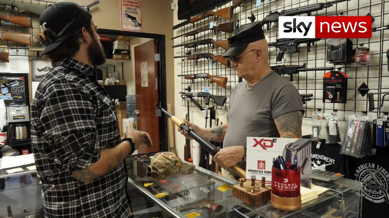 Buying guns after a shooting