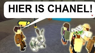 CHANEL GEVANGEN IN ROBLOX! (ROBLOX POKEMON BRICK BRONZE)