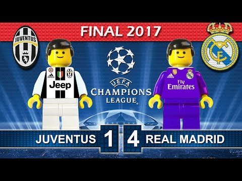 Champions League Final 2017 • Juventus vs Real Madrid • Goals Highlights Lego Football Film