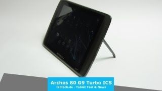 Archos 80 G9 Turbo ICS Full Review