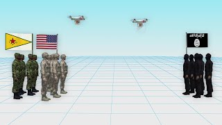 ISIS uses drones to attack U.S. troops in Syria