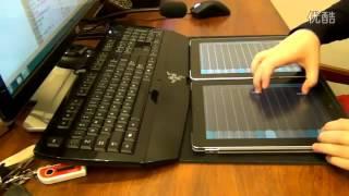 chơi đàn tranh bằng hai chiếc iPad