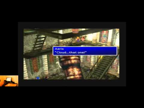 Lets Play Final Fantasy 7 For The Playstation Part 2   Classic Retro Game Room