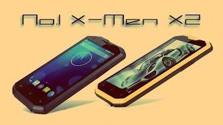 Очередной защищенный смартфон No.1 X-men X2 в нашем видеообзоре