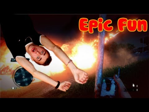 Far Cry 3 - Chasse au lance flamme, attaque de base FAIL, forêt en feu, bref Far Cry ! Music Videos