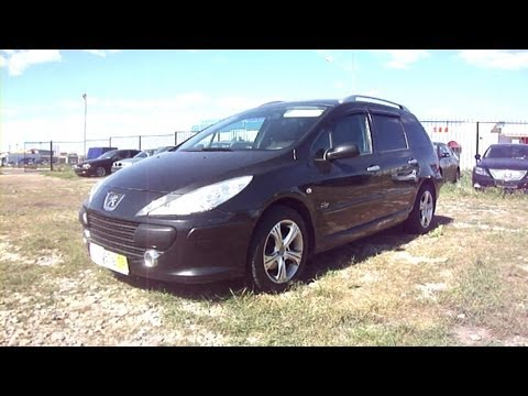 2007 Peugeot 307 sw.Start Up. Engine. and In Depth Tour.