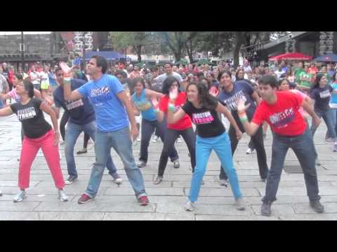 Bollywood Flash Mob Boston Strong - Official Video video