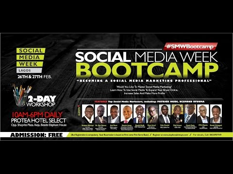 Social Media Week Lagos Nigeria, February 2015 @ Protea