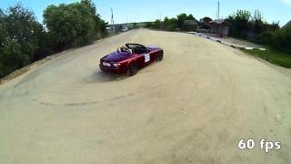 Hit&Run MX-5 NC Drift filmed with DJI Phantom