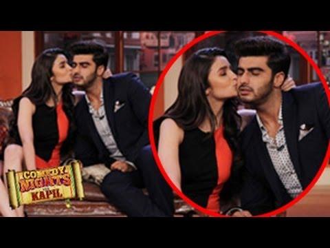 Alia Bhatt & Arjun Kapoor In Comedy Nights With Kapil 27th April 2014 FULL EPISODE - CAUGHT KISSING