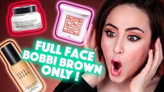SO GEIL?! 🧐 Full Face Makeup Using Only Bobbi Brown | Hatice Schmidt