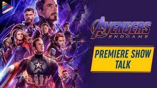 Avengers Endgame Premiere Show Talk | Robert Downey Jr | Chris Evans | Telugu FilmNagar