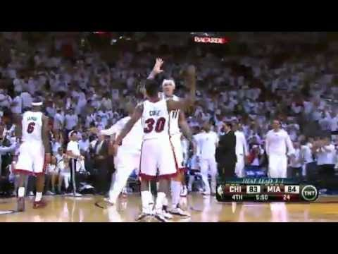 NBA CIRCLE - Chicago Bulls Vs Miami Heat Game 5 Highlights - 15 May 2013 NBA Playoffs