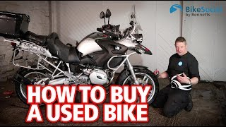 Top things to check when buying a used motorcycle   How to  buy a  bike