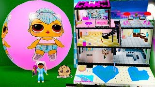Giant LOL Surprise Dream House & Blind Bag Balls Roblox Video Game