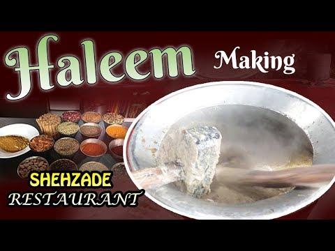 Haleem Making Shehzade |Myra Media|