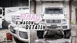 Filthy G Wagon Gets Detailed! Satisfying Exterior Auto Detailing