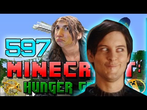 Minecraft: Hunger Games w/Mitch! Game 597 - CHEEKY DEATHMATCH